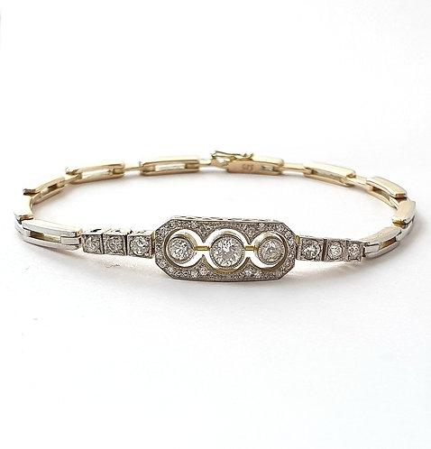 Armband im klassischen Stil des Art Deco