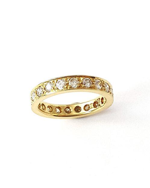 Memoire-Ring in Gelbgold