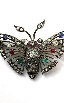 Schmetterlings-Brosche