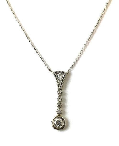 """Collier """"Shiny Diamonds"""" im Stil des Art Déco"""