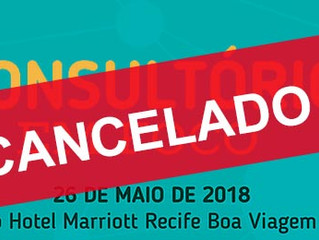 Comunicado de cancelamento do Dermasábado