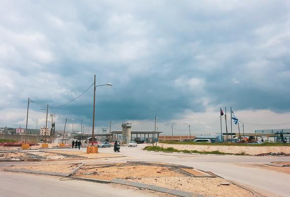 Qalandiya Checkpoint | Israeli Side