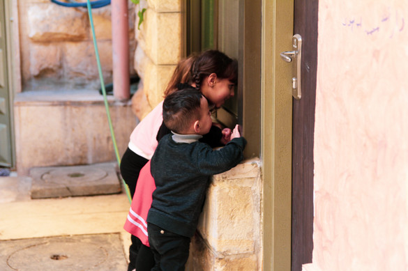 Mahmoud's children | East Jerusalem