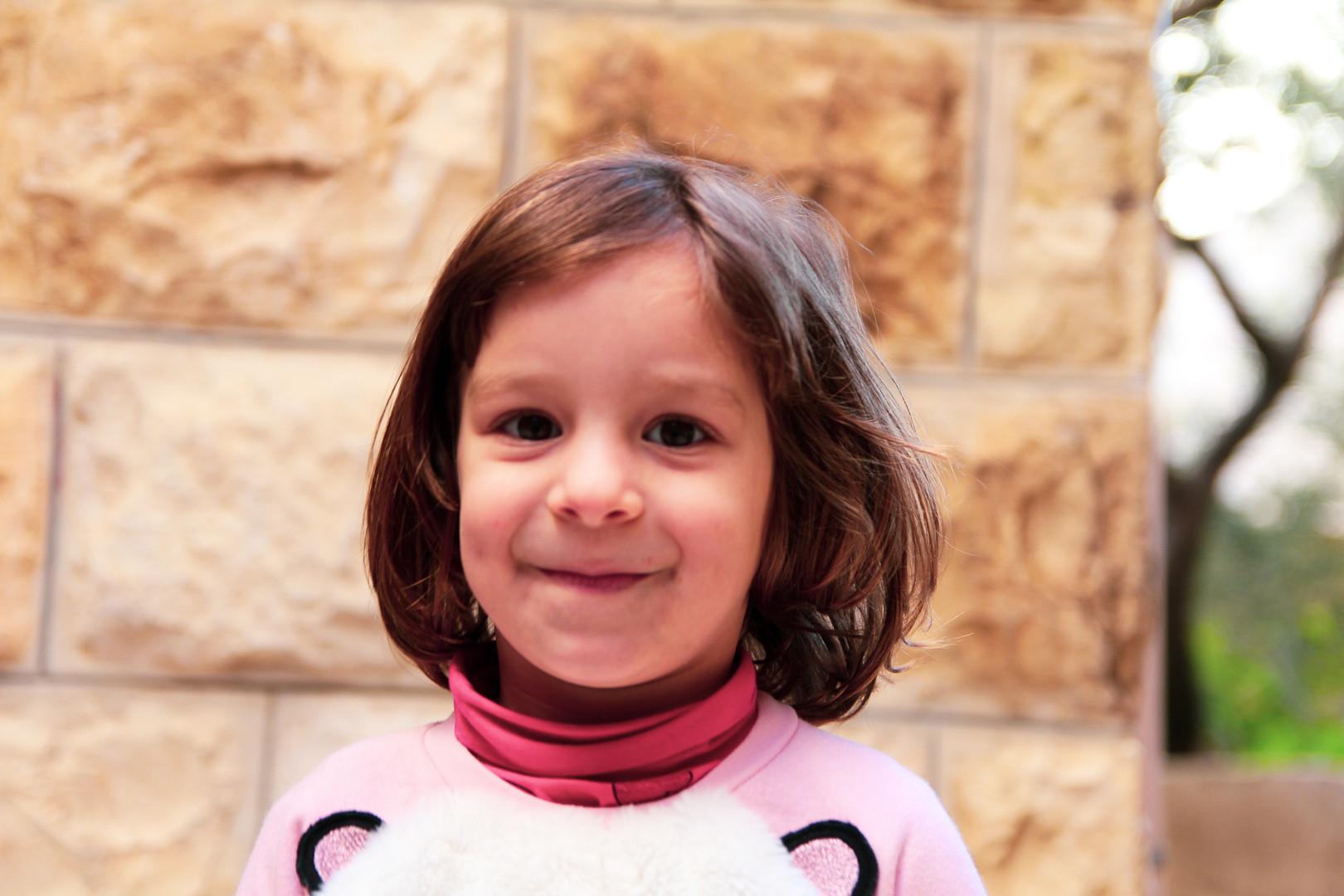 Mahmoud's grand daughter | East Jerusalem