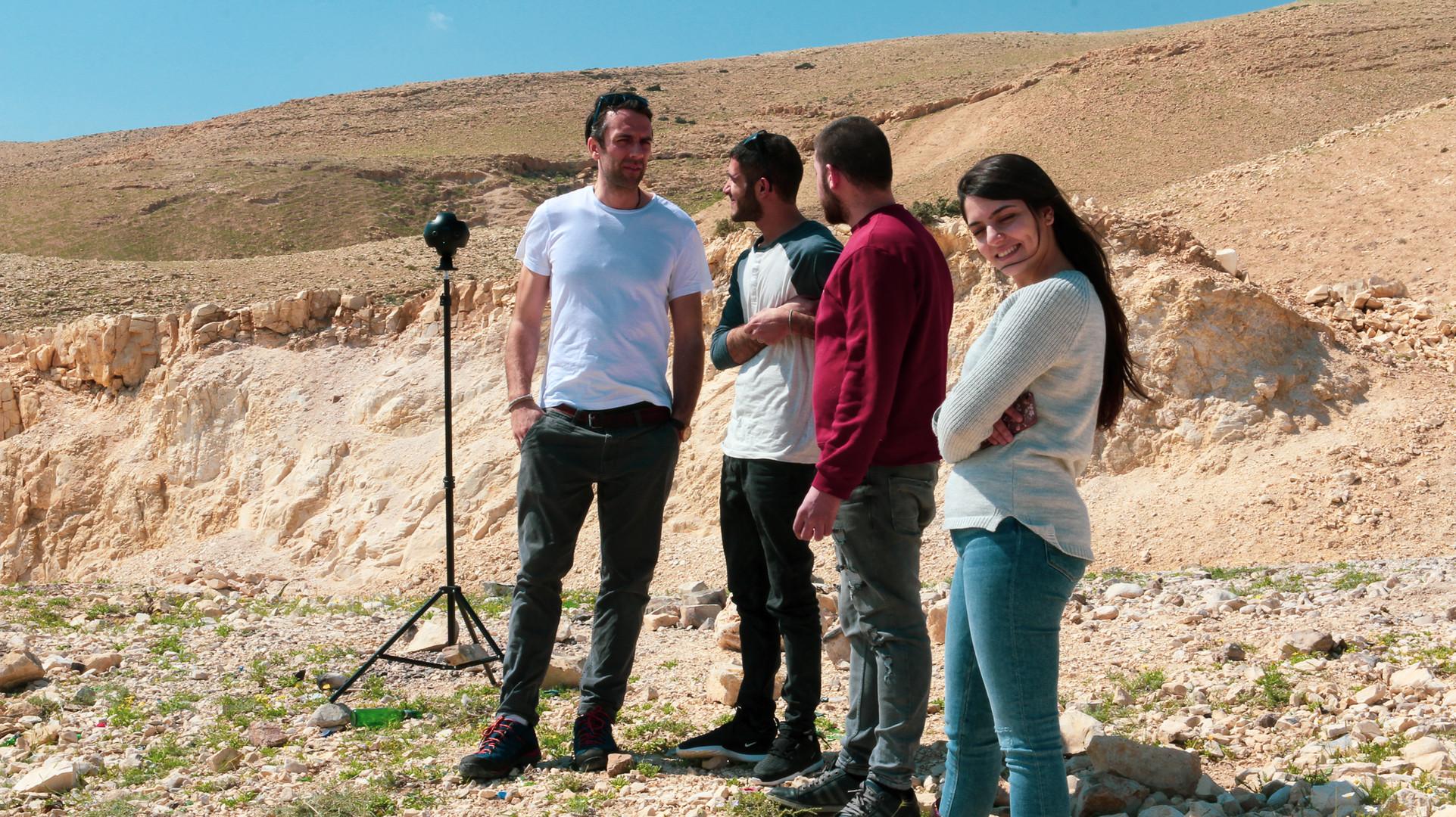 Arab with family | Jericho