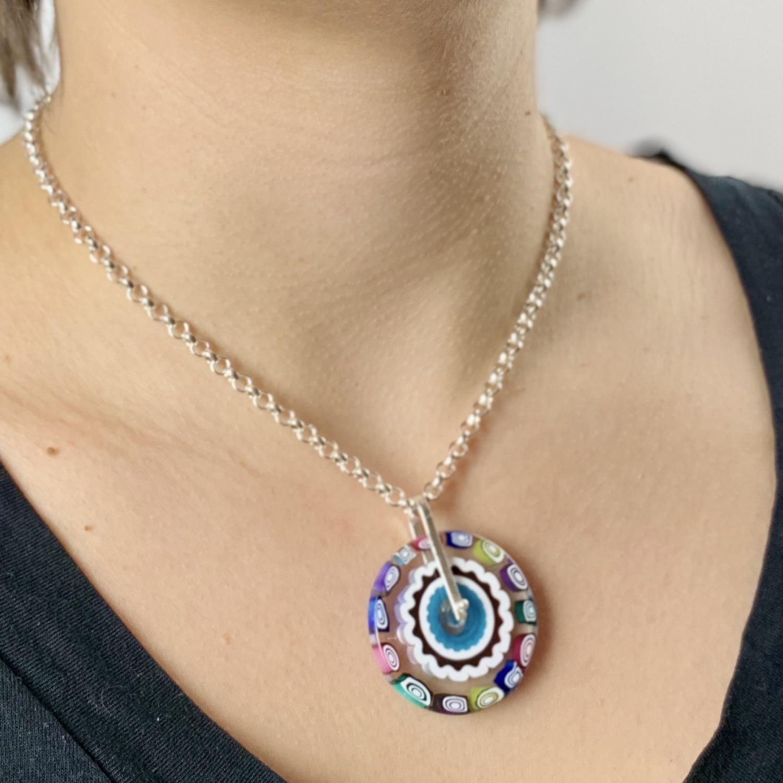 Thumbnail: Happy Milli Pendant Necklace