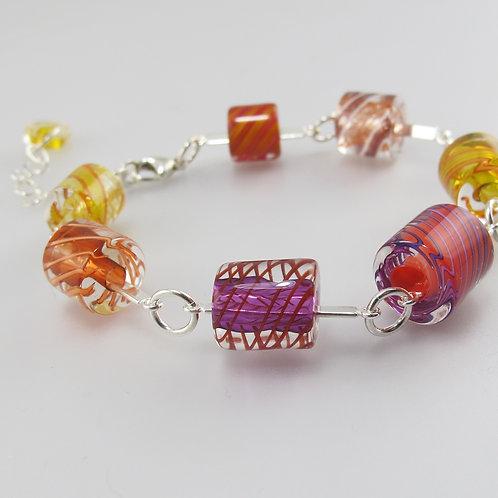 Cafe Bracelet (Warm Colors Colors)