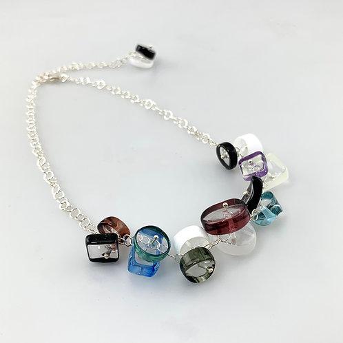 BG Necklace, Azure