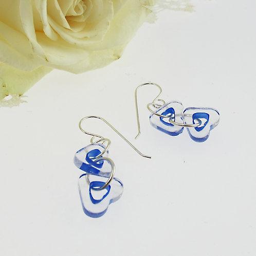 """Lapis Blue"" Earrings"