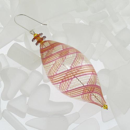 """Calendula"" Oval Ornament"