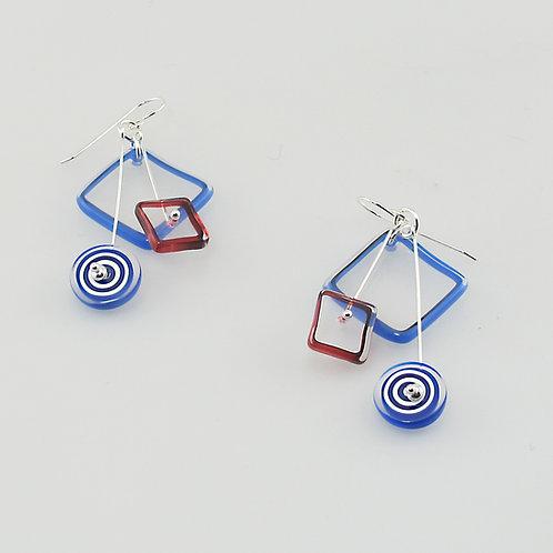 Briefcase Kinetic Earrings