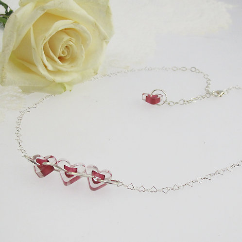 """RoseHeart"" Necklace"