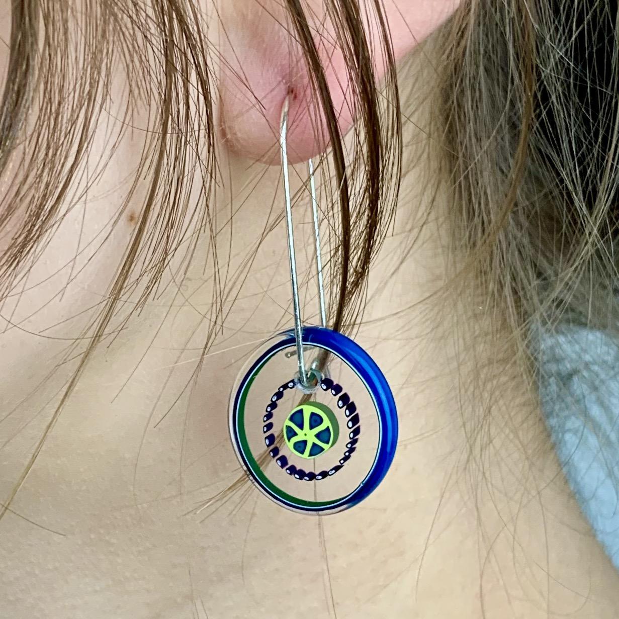 Thumbnail: Baby Bok Choy Earrings
