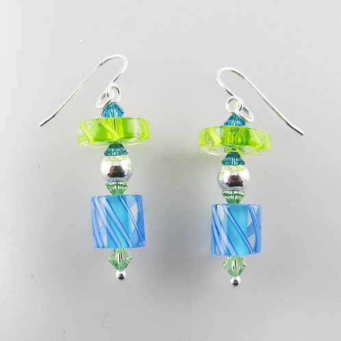 Penelope Earrings (Aqua2)