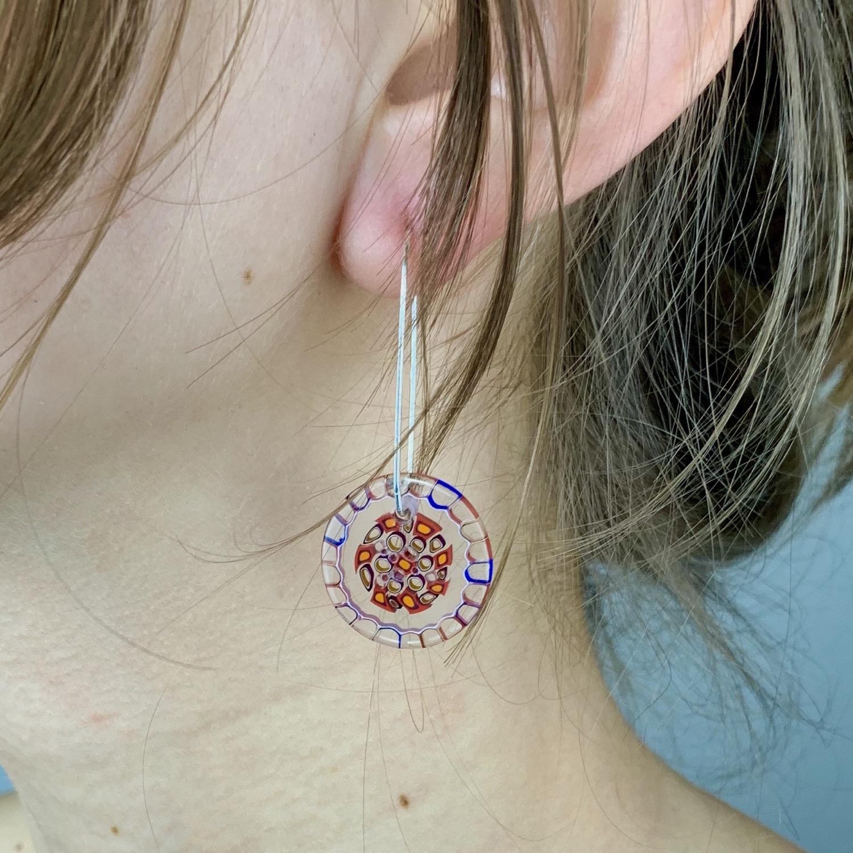 Thumbnail: Pomegranite Earrings