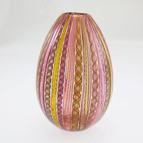 """""""Egg""""  ,  (Paris Pink) ,  8""""tall x 6""""wide"""