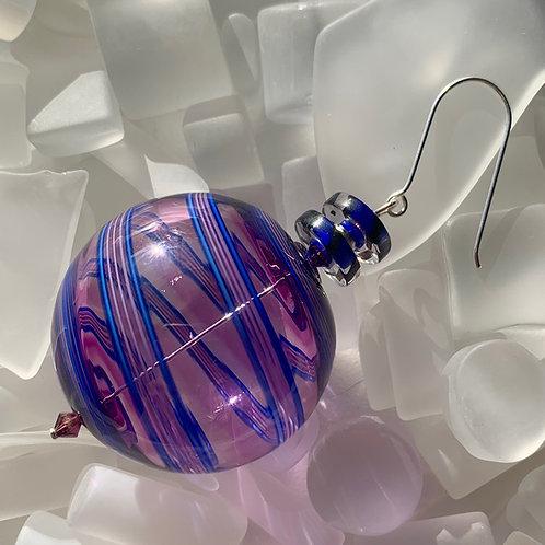 """""""Plum"""" Round Ornament"""