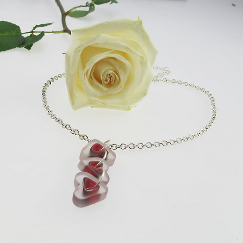 """Family of Hearts"" Necklace"