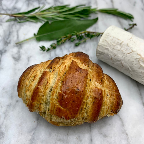 Herb Goat Cheese Croissant