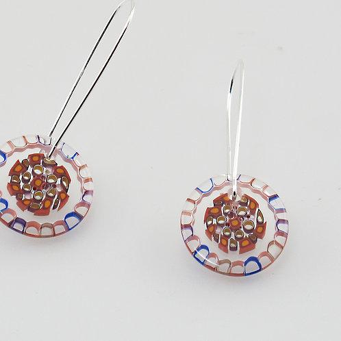 Pomegranite Earrings