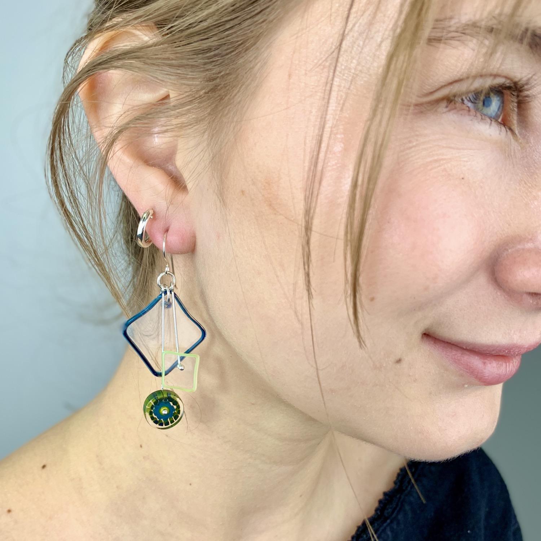Thumbnail: Avocado Kinetic Earrings