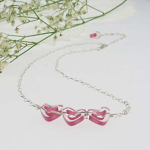 """Pretty in Pink"" Necklace"