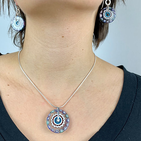 Jewel Tones Milli Pendant necklace