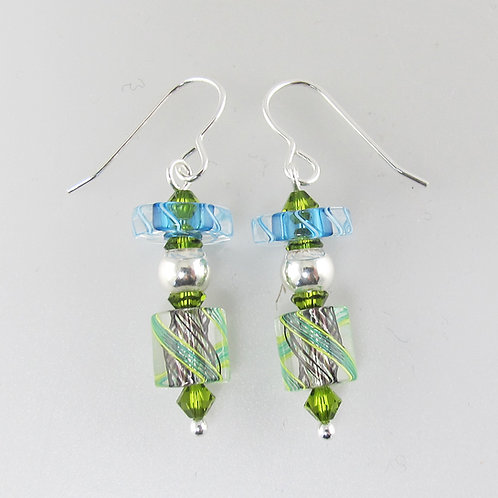 Penelope Earrings (Aqua1)