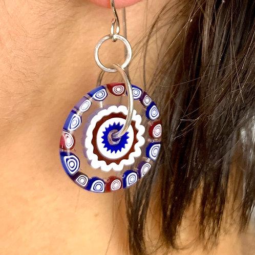Cobalt Milli earrings