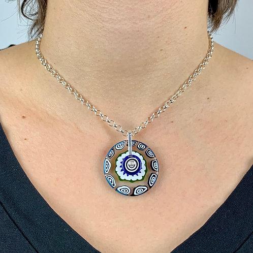BlueGreen Milli Pendant Necklace