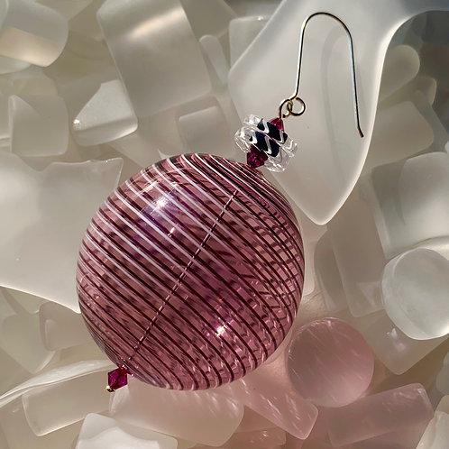 """Rubis"" Round Ornament"
