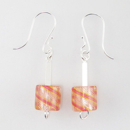 Cafe Earrings (Peach)