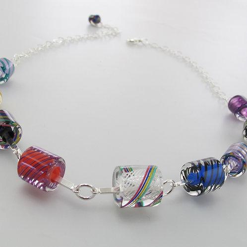 Cafe Necklace (Multi Colors)