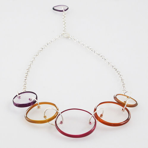 Halo Necklace (Warm Colors)