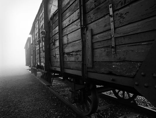 Railroad car used to transport deportees Jewish Ramp