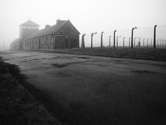 Main guard house, Birkenau