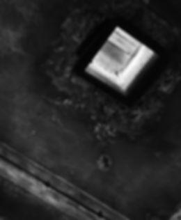 Zyklon B portal in the gas chamber, Auschwitz.