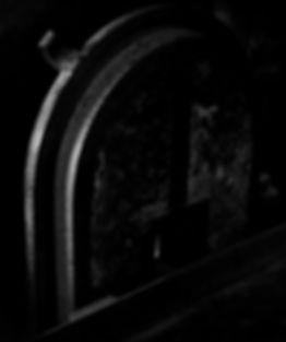 Oven door, crematorium, Auschwitz.