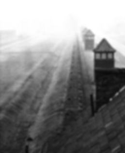 Perimeter fence, Birkenau.