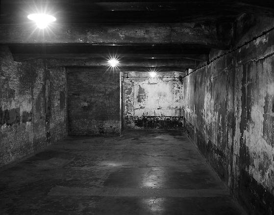 Gas chamber, Auschwitz.