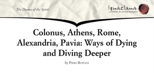 Professor Piero Boitani - Colonus, Athens, Rome: Ways of Dying and Diving Deeper