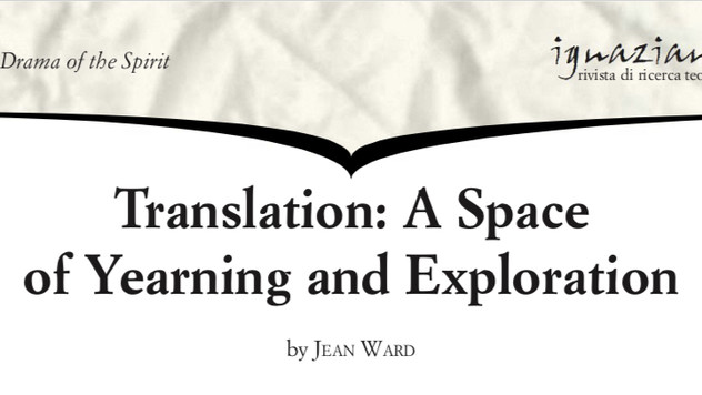 Professor Jean Ward - Translation: A Space of Yearning and Exploration