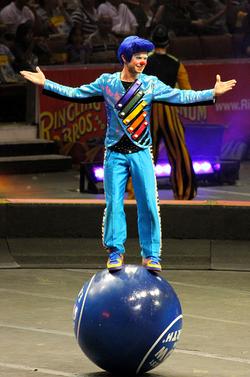 billy murray ringling clown