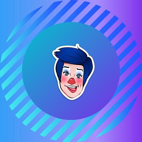 Billy the Clown Sticker