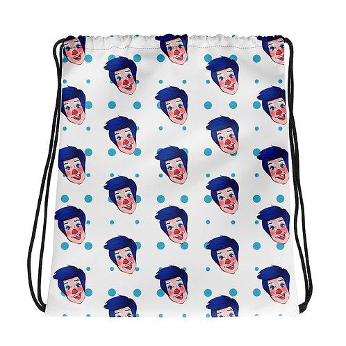 Billy the Clown Drawstring Bag