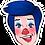 Thumbnail: Billy the Clown Sticker