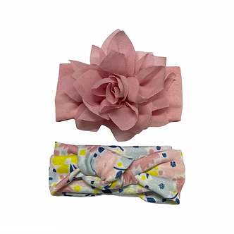 B01 Tiara 2 piezas Floral