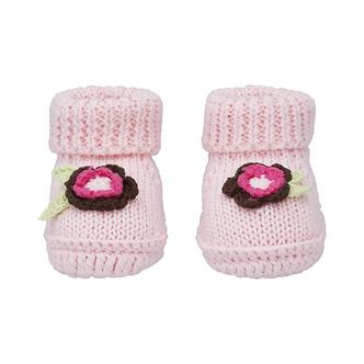 ZNB26 Zapatito Crochet Florecita