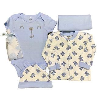 MULTI01 Set de 6 piezas para niño, Azul