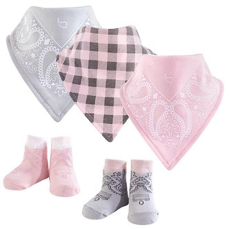 B13 SET Bandanas con calcetitas niña